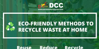 Eco-friendly methods